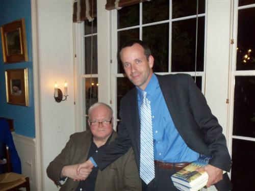 With Pat Conroy
