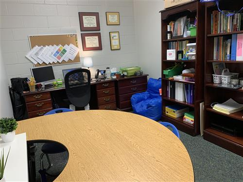 Mrs. Brown's office