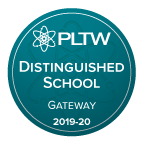 We're a PLTW Distinguished School!