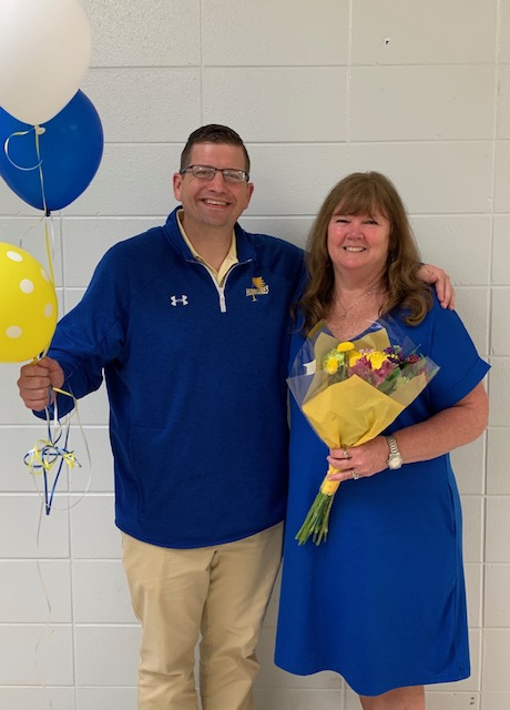 Staff of the Year-Mrs. Deanna Irby